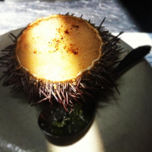 Sea Urchin Crab Bisque