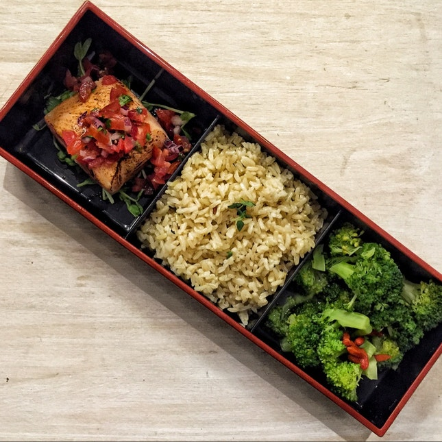 Make Your Own Healthy Bento (3 items, from $9.80)