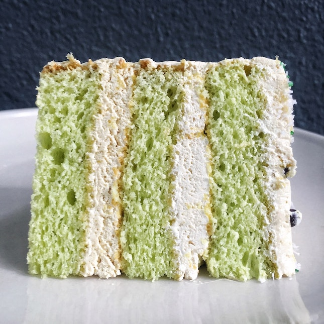 Ondeh Ondeh Cake ($5.50/slice; $38, whole)