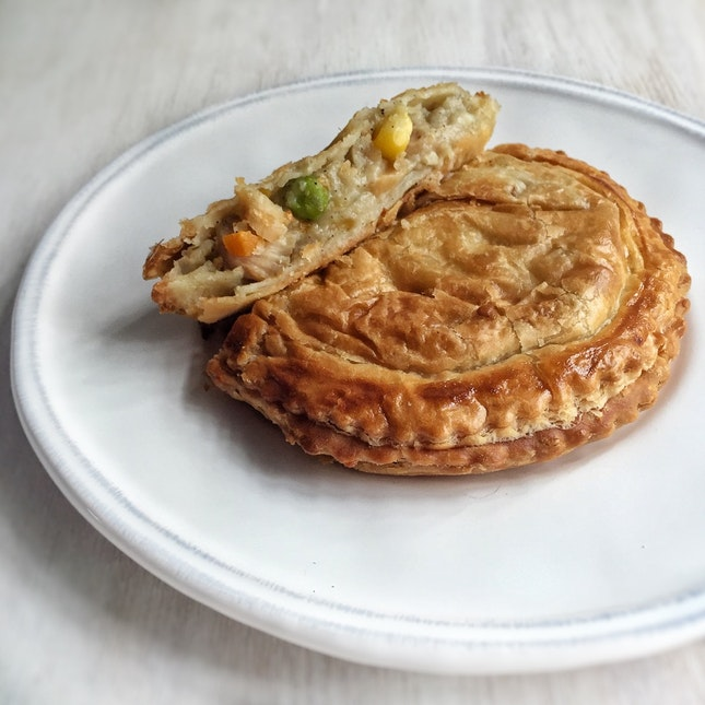 Chicken Pie ($3.80)