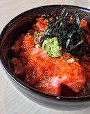 Salmon Chirashi ($16)