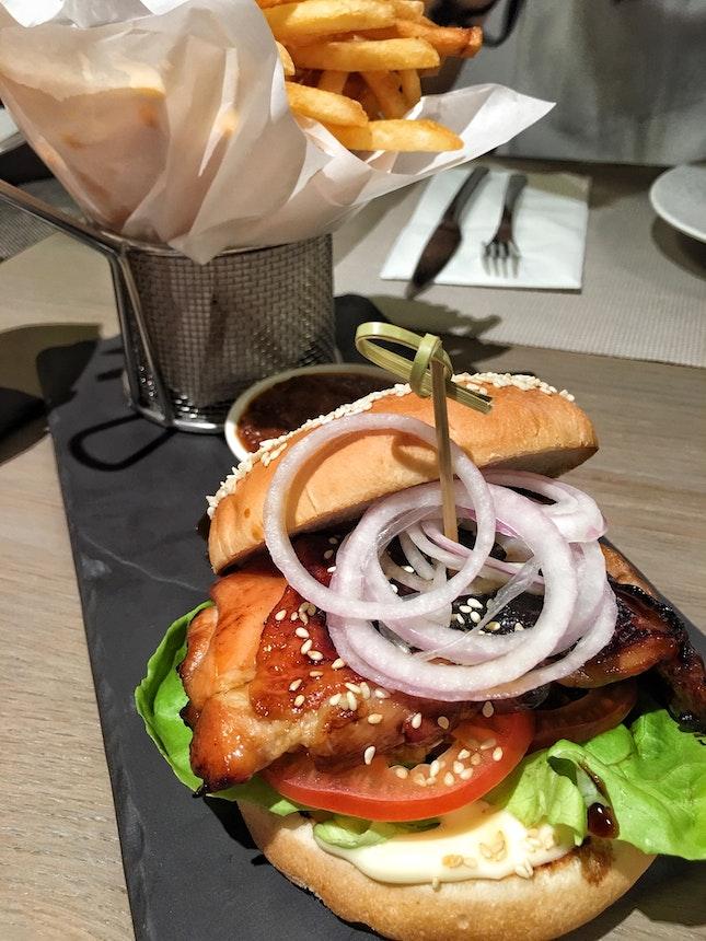 The Chicken Burger ($16)