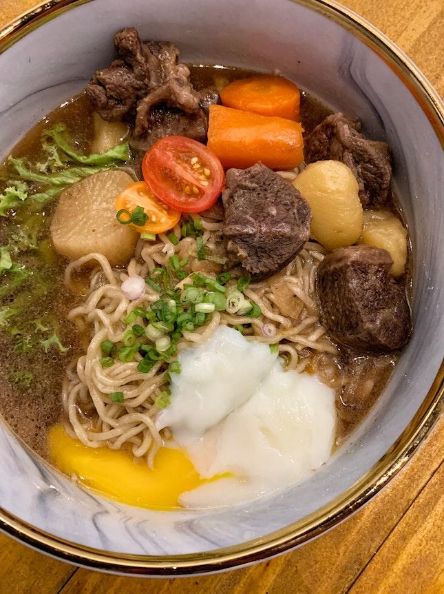 Beef Noodle ($12.80)