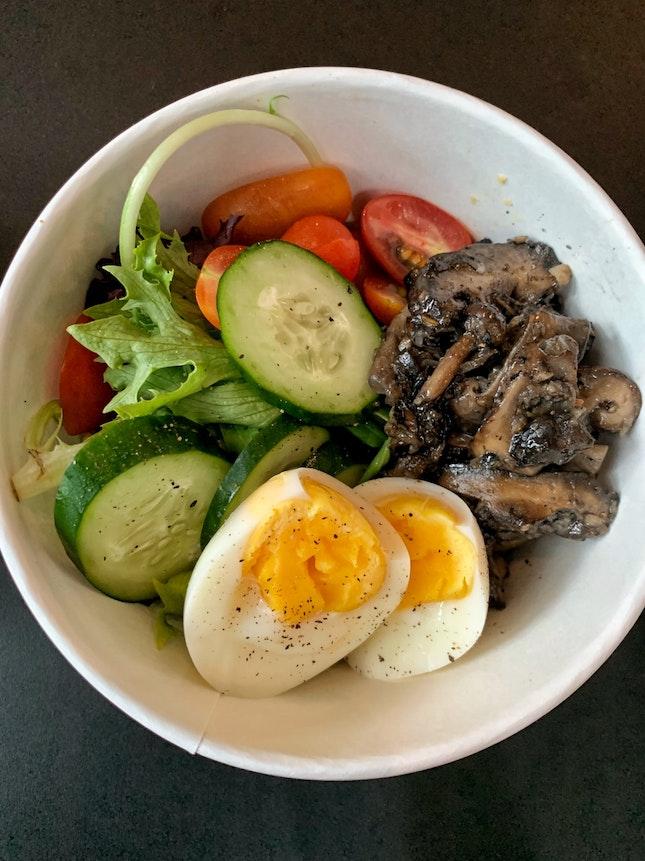 Shroom Cauli Bowl ($14)