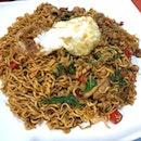 Thai Basil Chicken Noodles