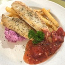Grilled White Fish with Oriental Tomato Sauce