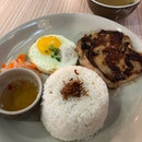 Grilled Chicken Rice Set