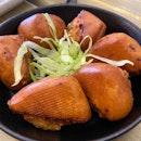 Prawn Toast Mantou