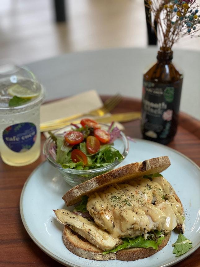 Rosemary Chicken Sandwich