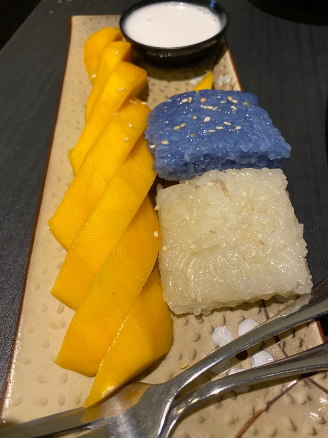 Organic Sticky Rice with Thai Honey Mango