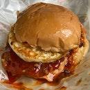 Burger Geprek