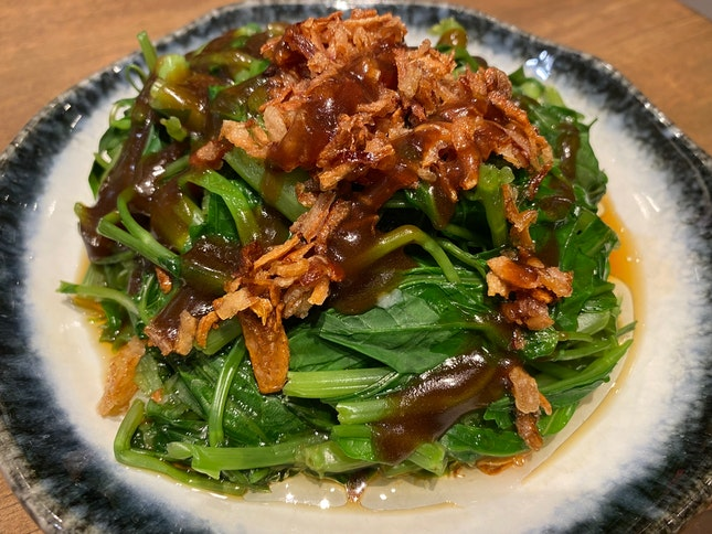 Kang Kong with Oyster Sauce