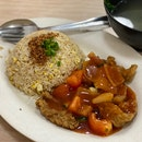 Sweet & Sour Fish Fillet Fried Rice