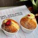 Plum Yuzu Jam & Strawberry Cream Donuts