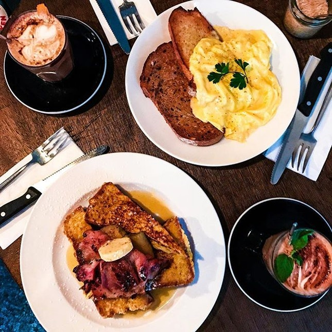It's Saturday, treat yourself to Breakfast, Brunch or whatever you call it.