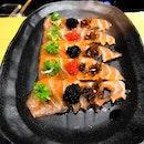 Southpaw Bar & Sushi @southpawbarnsushi - Omakase Take (💵S$98) - HOSTED TASTING - Chef Kenny's selection of 2 Appetisers.