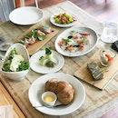 Audace Bar & Restaurant @audacesg - 16 Course Brunch Menu (💵S$68++) 3 of 6 Appetisers 🍴 • ACAMASEATS & GTK💮: Arugula Salad, Parmesan, Lemon and Olive Oil Dressing.
