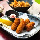 Chikin @chikinbar - HOSTED TASTING - Tonkatsu Bites (💵S$12) 🥢 • ACAMASEATS & GTK💮: What's better than pork belly?