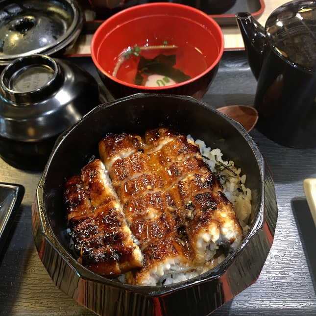 Unagi That Melts In Your Mouth