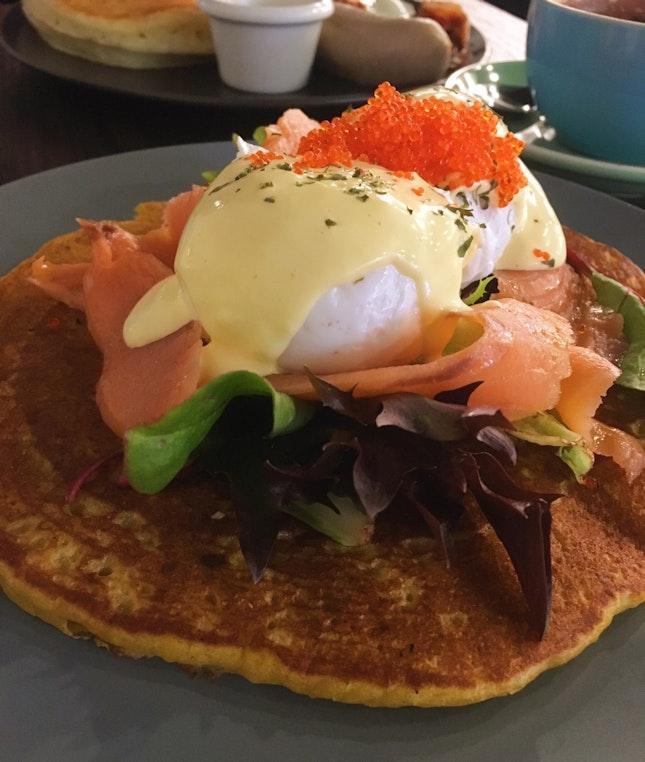 Pumpkin Pancake ($18)