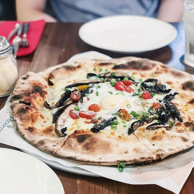 One of the better pizzas we've had.