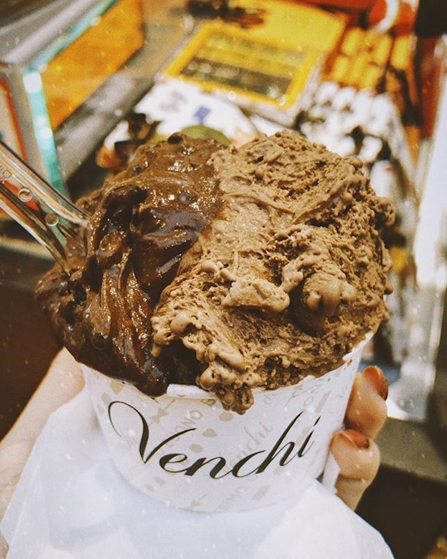 My go-to chocolate gelato place ☺️ Where's yours?