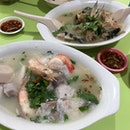 Fish Head Soup + Fish and Prawn Porridge
