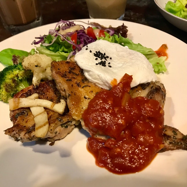 Rose Mary Chicken And Egg