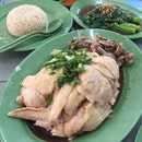 Traditional Cold White Chicken Rice