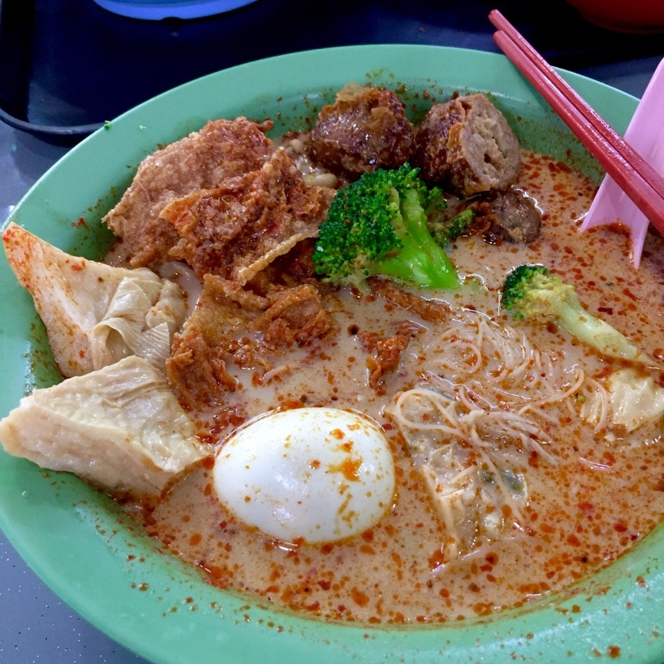 Curry Laksa Yong Tau Fu