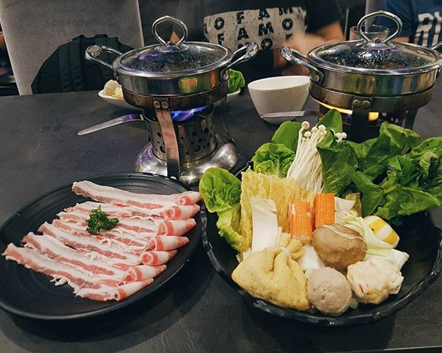 Shabu Shabu 🍜 Waiting is a sign of true love and patience.