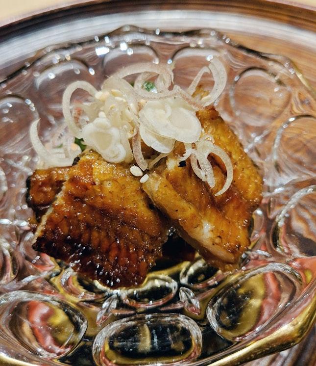 Broiled Eel with vinegar sauce