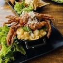 Soft Shell Crab Mac & Cheese ($16)