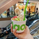 llao llao 🍧 Being a fan of their cookie sauce as well as pistachio sauce.