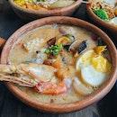 Tom Yum Porridge Seafood ($16.90)
