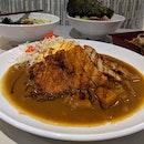 Curry Omellete Katsu Rice ($8.90)