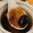 Double-boiled Bird Nest with Peach Gum