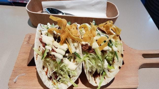 Truffle Duck Confit Taco ($16++)