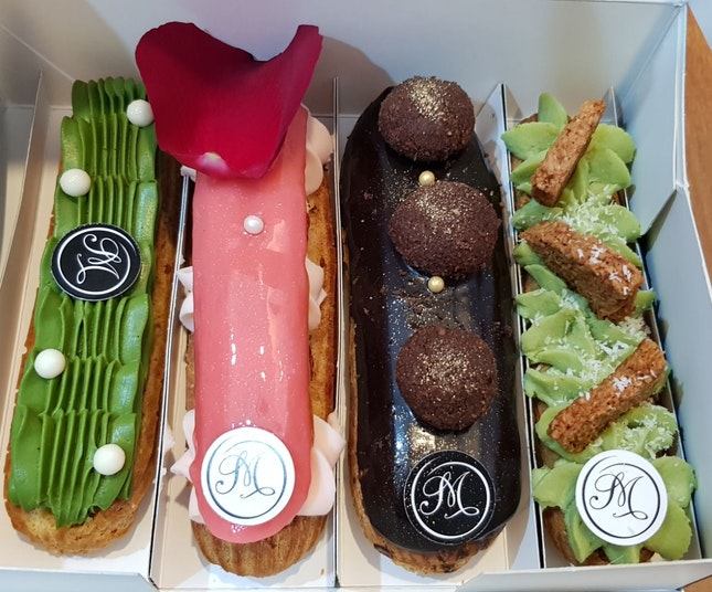 Assorted Eclairs ($8-8.50)