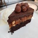 Chocolate Doorstop Nut Cake ($15)