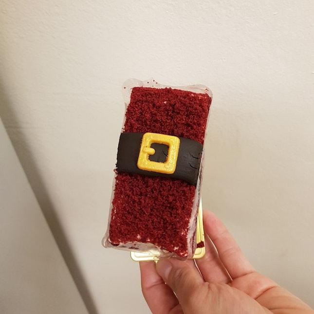 Santa Red Velvet Cake ($6.90)