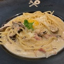 Noodles in Mushroom Soup