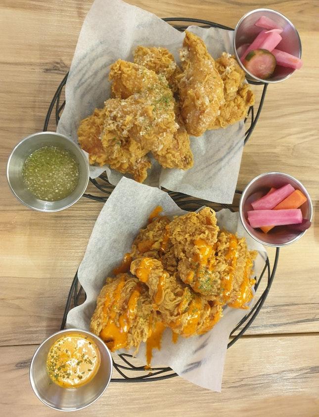 Honey Garlic And Jjamppong Mayo Chicken