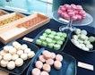 Macarons at Moleskin event @fabcafesg  #fabcafesg #artsciencemuseum #macarons #moleskin #moleskinXFabcafe