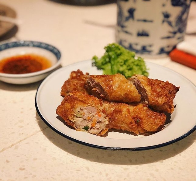Ngor Hiang ❤️ #currytimessg #lunch #changiyummy