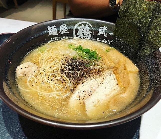 Ramen 🍜  #ramen #japangourmethallsora #changiyummy #changiairport #menyatakeichi