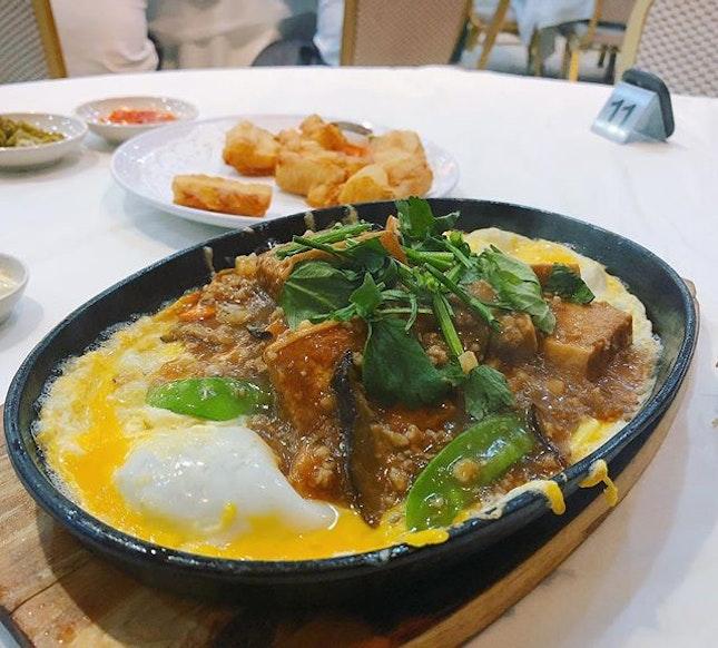 Dinner❤️ #sgeastsiders #hotplatetofu #tekongseafoodrestaurant #changivillage