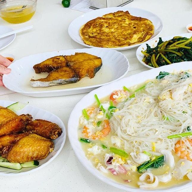 Dinner ❤️ #veryengandfamily #sembawangwhitebeehoon #whitebeehoonrestaurant