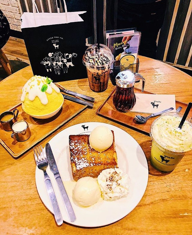 // Missing the desserts; especially the toast 🍞