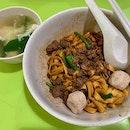 Mdm Leong Dry Ban Mian (no Chili) at Amoy Hawker Centre for lunch today #ieatishootipost#hungrygowhere#instafood#foodporn#iweeklyfood#yummy#instagram#theteddybearman#eatoutsg#whati8today#yummy#eatoutsg#food#igfoodie#eatingout#eatstagram#sgfood#foodie#foodstagram#SingaporeInsiders#sgfoodie#sgfoodies#burpple#eatbooksg#burrplesg#ilovehawkerfood
